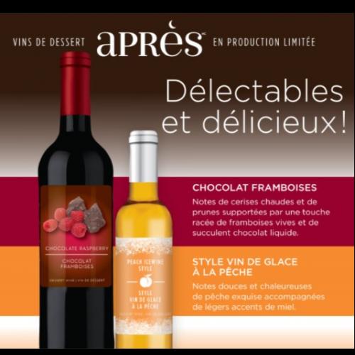 APRÈS - Vin de Dessert Aromatisé - Édition 2018