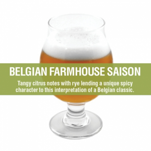 BELGIAN FARMHOUSE SAISON