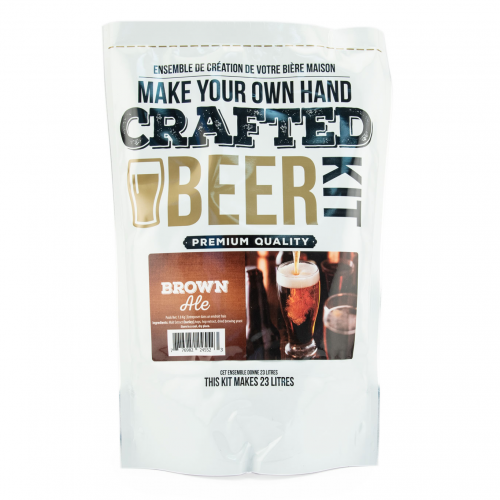 Crafted Beer Kit Brown Ale