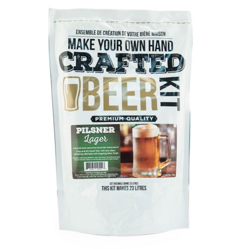 Crafted Beer Kit Pilsner Lager