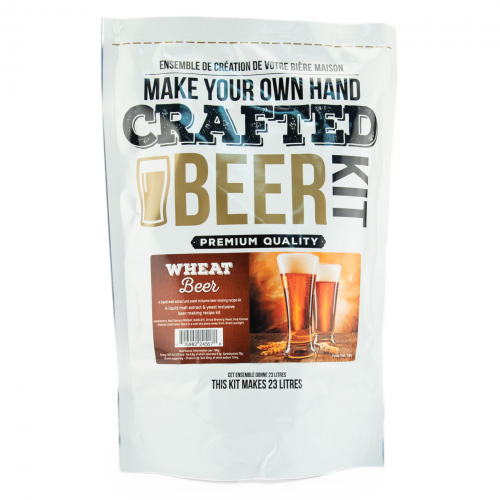 Crafted Beer Kit Wheat