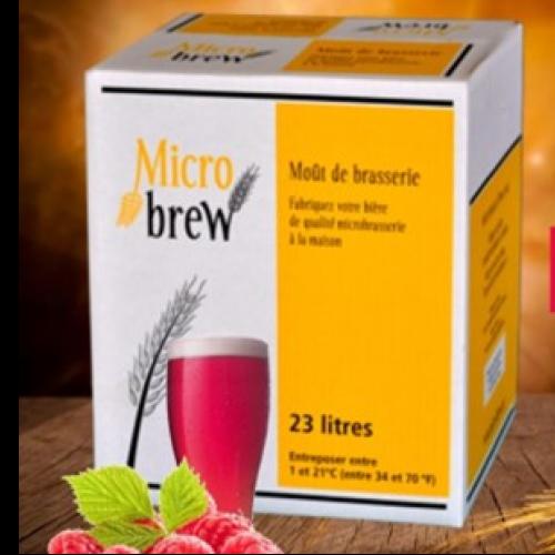 Micro Brew Blanche à la Framboise (limité)